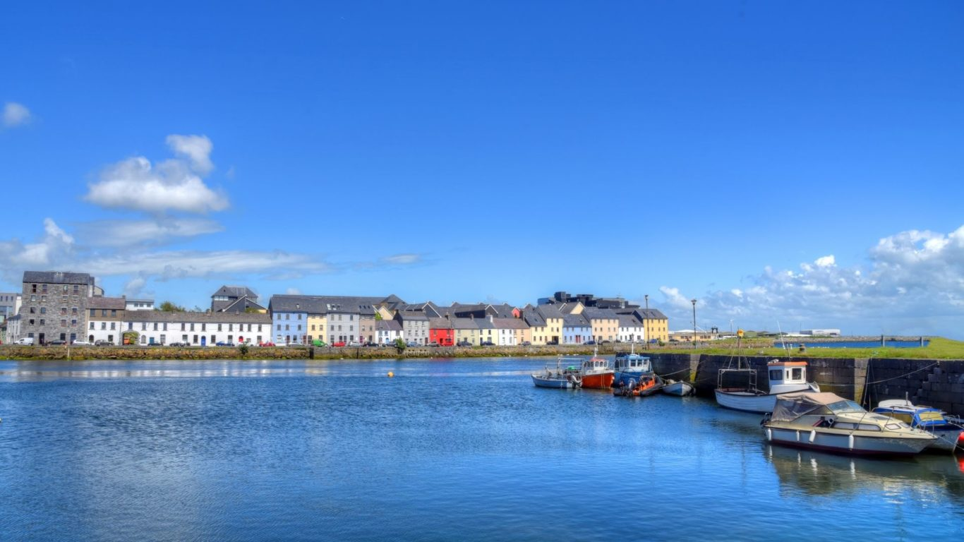 Galway City near Lady Gregory